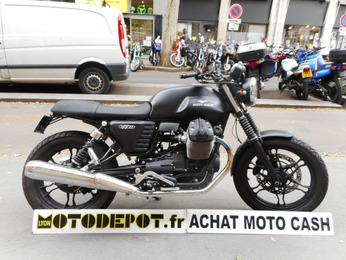 V7II STONE 750 MOTO GUZZI FULL BLACK