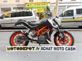 DUKE 390 KTM BLANC