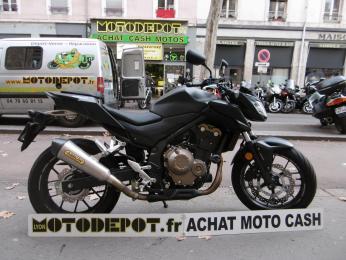 CBF 500 ABS HONDA NOIR MAT
