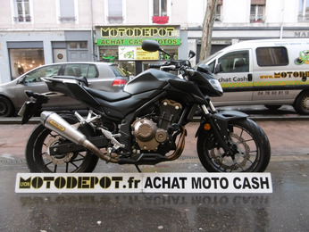 CB 500 ABS HONDA NOIR